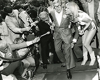 1979 George Burn's footprint ceremony