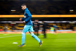 Miguel Almiron of Newcastle United warms up - Mandatory by-line: Robbie Stephenson/JMP - 11/02/2019 - FOOTBALL - Molineux - Wolverhampton, England - Wolverhampton Wanderers v Newcastle United - Premier League