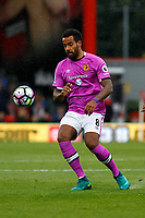Football - 2016 / 2017 Premier League - AFC Bournemouth vs. Hull City<br /> <br /> Tom Huddlestone of Hull City in action at Dean Court (The Vitality Stadium) Bournemouth<br /> <br /> Colorsport/Shaun Boggust