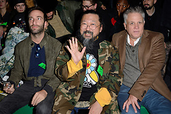 Takashi Murakami attending the Off-White Menswear Fall/Winter 2019-2020 show as part of Paris Fashion Week in Paris, France on January 16, 2019. Photo by Aurore Marechal/ABACAPRESS.COM