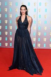 Hannah John-Kamen attending the 73rd British Academy Film Awards held at the Royal Albert Hall, London. Photo credit should read: Doug Peters/EMPICS Entertainment