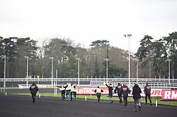 January 13, 2019 - France - Manifestation de Gilets Jaunes sur la piste de l hippodrome de Vincennes (Credit Image: © Panoramic via ZUMA Press)
