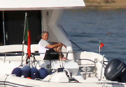 EXCLUSIVE - PORTUGAL SALES OUT<br /> Mourinho Holidays on luxury Yacht <br /> <br /> The Special On rented a luxury yacht (2.000 euros / average for a day) for with his family, he sailed from Portimo Marina to Desert Island (Natural Reserve) where the family had lunch at a renowned restaurant which cost 100 euros per person!, maybe Mourinho is looking at buying one of these yatch's like his Chelsea Captain john Terry has just done.<br /> ©Exclusivepix