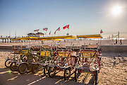 Zacks Bike Rentals in Huntington Beach at the Pier