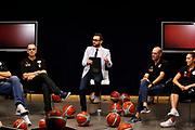 De Raffaele Walter, Andrea Liberalotto<br /> Reyer Venezia Presentazione Maglie stagione 2017/2018<br /> Venezia, 21/09/2017<br /> Foto Ciamillo - Castoria/A.Gilardi