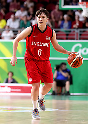 England's Stefanie Collins in the Women's Gold Medal Game at the Gold Coast Convention and Exhibition Centre during day ten of the 2018 Commonwealth Games in the Gold Coast, Australia.