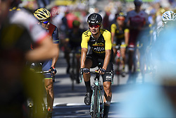 July 4, 2017 - Mondorf Les Bains / Vittel, Luxembourg / France - VITTEL, FRANCE - JULY 4 : BENNETT George (NZL) Rider of Team Lotto NL - Jumbo during stage 4 of the 104th edition of the 2017 Tour de France cycling race, a stage of 207.5 kms between Mondorf-Les-Bains and Vittel on July 04, 2017 in Vittel, France, 4/07/2017 (Credit Image: © Panoramic via ZUMA Press)