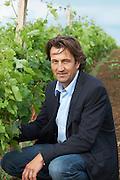 Christophe Dussutour, manager, winemaker chateau trottevieille saint emilion bordeaux france