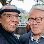 NLD/Amsterdam/20190520 - inloop Best of Broadway, kostuumontwerper Glenn Hewitt en Barry Stevens