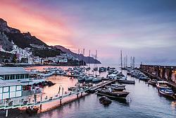 Amalfi Harbor Sunrise