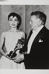 ; Film History: Oscars. Original Film Title: Film History: Oscars, PICTURED: AUDREY HEPBURN, JEAN HERSHOLT, IN CAST: (Credit Image: © ZUMA Movie Library/ZUMAPRESS.com)