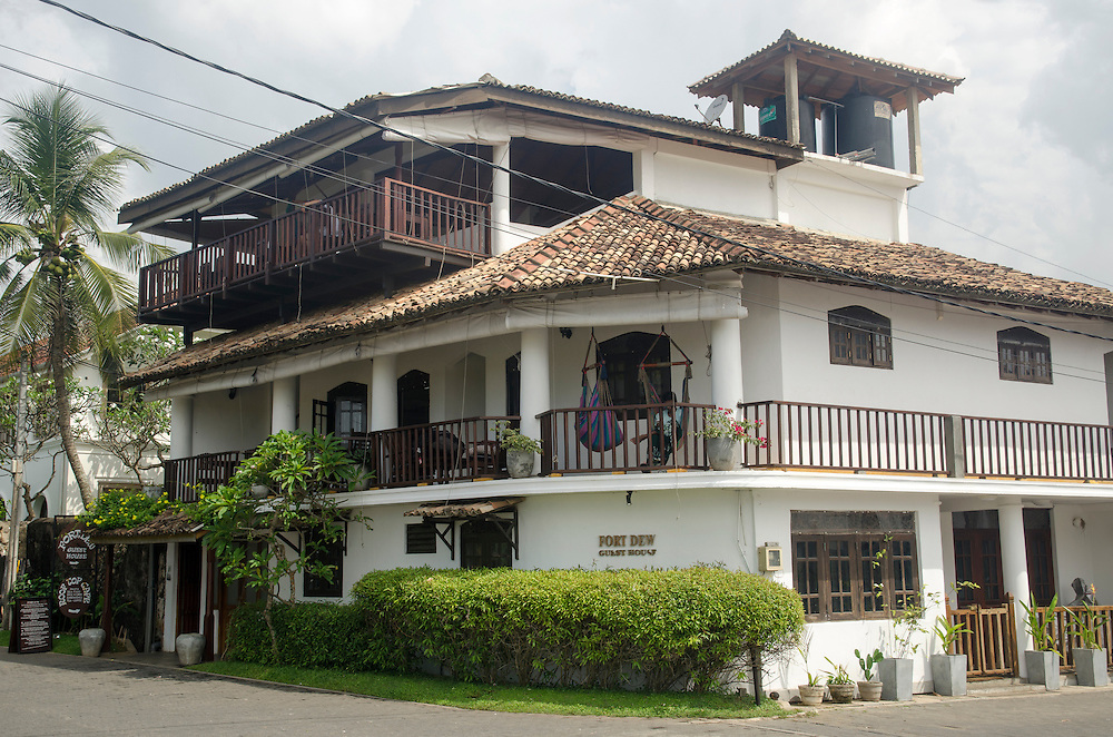 Fort Dew guesthouse in Galle Fort, Sri Lanka