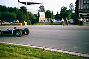 Formula One motor racing Graham Hill BRM P261 racing car. Belgian Grand Prix 1964, Spa, Belgium,