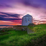500px Photo ID: 110276031 - Kristiansten Fortress (Norwegian: Kristiansten Festning, historically spelled Christiansten) is located on a hill east of the city of Trondheim in Sør-Trøndelag county, Norway. It was built after the city fire of Trondheim in 1681 to protect the city against attack from the east. Construction was finished in 1685. It fulfilled its purpose in 1718 when Swedish forces laid siege against Trondheim. The fortress was decommissioned in 1816 by king Charles XIV John.