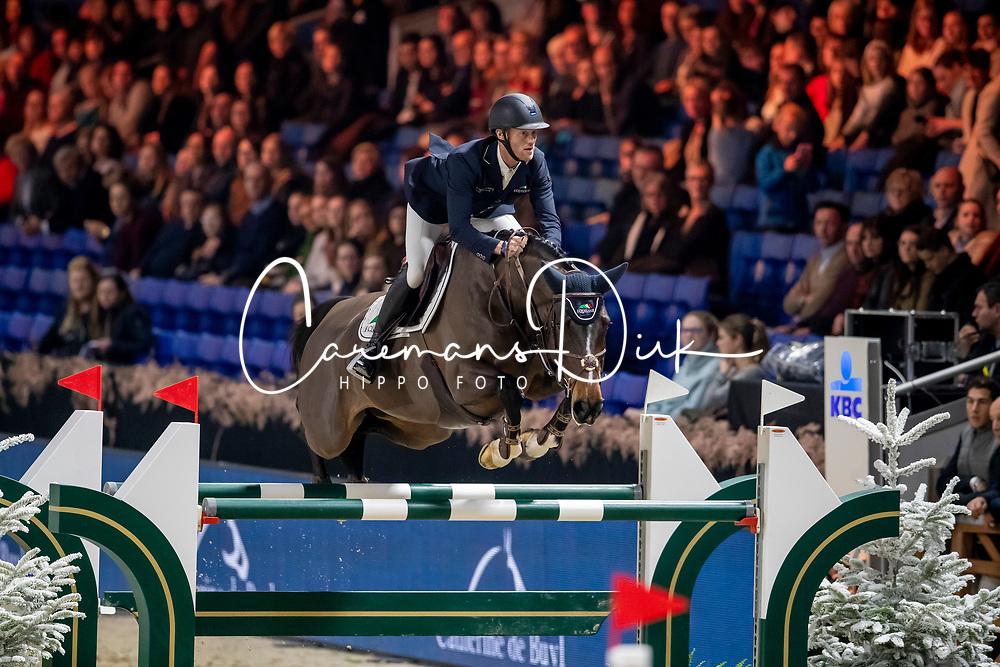 Bruynseels Niels, BEL, Libelle van Heffinck<br /> Jumping Mechelen 2019<br /> © Hippo Foto - Dirk Caremans<br />  26/12/2019