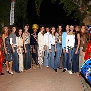 Miss Nederland 2003 reis Turkije, Turkse avond