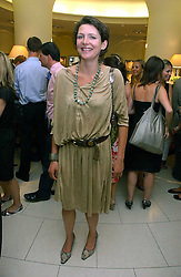 THOMASINA MIERS  winner of BBC 2's 2005 MasterChef competition at a party hosted by Links at their store in Sloane Square, London to celebrate the forthcoming Glorious Goodwood Racing festival held on 26th July 2006.<br /><br />NON EXCLUSIVE - WORLD RIGHTS