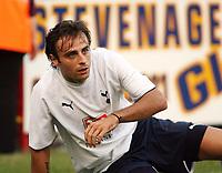 Photo: Chris Ratcliffe.<br /> Stevenage Borough v Tottenham Hotspur. Pre Season Friendly. 25/07/2006.<br /> Dimitar Berbatov of Spurs.