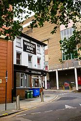 The Norfolk Arms at the junction of Dixon Lane, Shude Hill and Broad Street West, next to  Sheffield old Castle Market<br /> <br />  Copyright Paul David Drabble<br />  18 September 2010<br />  www.pauldaviddrabble.co.uk