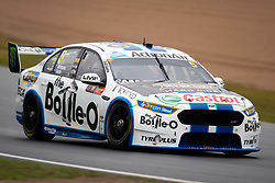 October 4, 2018 - Bathurst, NSW, U.S. - BATHURST, NSW - OCTOBER 04: Mark Winterbottom in the The Bottle-O Racing Team Ford Falcon at the Supercheap Auto Bathurst 1000 V8 Supercar Race on October 04, 2018, at Mount Panorama Circuit in Bathurst, Australia. (Photo by Speed Media/Icon Sportswire) (Credit Image: © Speed Media/Icon SMI via ZUMA Press)