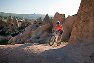 Mountainbiking in Goreme National Park, Cappadocia, Turkey