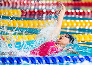 TOUSSAINT Kira Netherlands NED<br /> 50 backstroke women Semi Final<br /> Glasgow 07/12/2019<br /> XX LEN European Short Course Swimming Championships 2019<br /> Tollcross International Swimming Centre<br /> Photo  Giorgio Scala / Deepbluemedia / Insidefoto