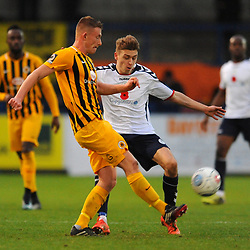 TELFORD COPYRIGHT MIKE SHERIDAN 10/11/2018 - Henry Cowans of AFC Telford during the Vanarama Conference North fixture between AFC Telford United and Boston United.