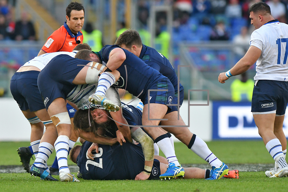 Roma 22/02/2020 Stadio Olimpico<br /> Guinness 6 nations 2020 : Italia vs Scozia