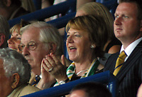 Photo: Paul Thomas.<br /> Leeds United v Norwich City. Coca Cola Championship.<br /> 05/08/2006.<br /> <br /> Delia Smith, Norwich chairman.