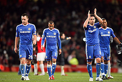 27.12.2010, Emirates Stadium, London, ENG, PL, FC Arsenal vs Chelsea FC, im Bild // Frank Lampard of Chelsea  and John Terry, the Captain of Chelsea at end of match in  the match Arsenal fc vs Chelsea fc for the EPL at the Emirates Stadium in London on 27/12/2010, EXPA Pictures © 2010, PhotoCredit: EXPA/ IPS/ M. Pozzetti *** ATTENTION *** UK AND FRANCE OUT!