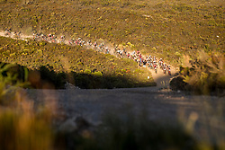 The lead bunch during stage 1 of the 2017 Absa Cape Epic Mountain Bike stage race held from Hermanus High School in Hermanus, South Africa on the 20th March 2017<br /> <br /> Photo by Nick Muzik/Cape Epic/SPORTZPICS<br /> <br /> PLEASE ENSURE THE APPROPRIATE CREDIT IS GIVEN TO THE PHOTOGRAPHER AND SPORTZPICS ALONG WITH THE ABSA CAPE EPIC<br /> <br /> ace2016