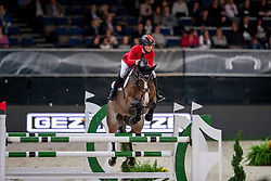 SPREHE Jörne (GER), Luna<br /> Stuttgart - German Masters 2018<br /> Zeitspringprüfung<br /> CSI5*-W Qualifikation zum Mercedes German Master<br /> 15. November 2018<br /> © www.sportfotos-lafrentz.de/Stefan Lafrentz