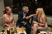 HEATHER GRAHAM, LARRY GAGOSIAN AND MEREDITH OSTRON, Party hosted by Larry Gagosian at Nobu, Berkeley St. London. 9 October 2007. -DO NOT ARCHIVE-© Copyright Photograph by Dafydd Jones. 248 Clapham Rd. London SW9 0PZ. Tel 0207 820 0771. www.dafjones.com.