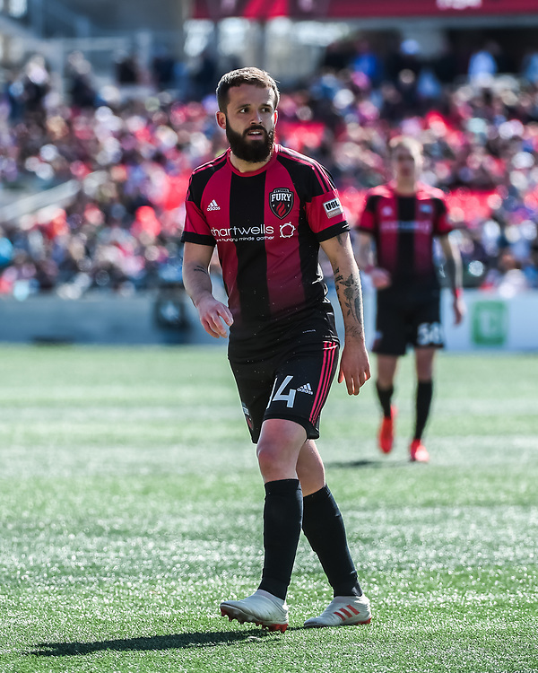 OTTAWA, ON - May 08: USL Championship match between the Ottawa Fury FC and New York Red Bulls II at TD Place Stadium in Ottawa, ON. Canada on May 08, 2019.<br /> <br /> PHOTO: Steve Kingsman/Freestyle Photography for Ottawa Fury FC