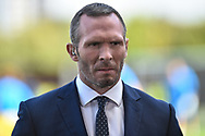 Former Oxford United manager, now Sky Sports pundit Michael Appleton during the EFL Sky Bet League 1 match between Oxford United and Coventry City at the Kassam Stadium, Oxford, England on 9 September 2018.