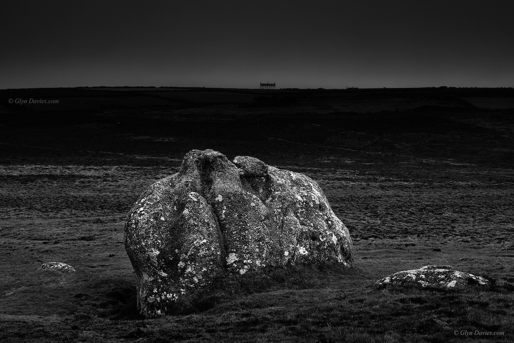 "I have been captivated by this huge and isolated granite boulder at Land's End since my early twenties, when I used to spend much time rock-climbing in the area. I've even photographed it a couple of times over the years, but today was the day when the boulder best depicted a large head and scowling face staring at the sky above. <br /> <br /> In the darkness of present times he's saying ""Oh my God, what have you let us become?"""