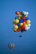 Cluster Balloonist John Ninomiya at Coalinga Ballooning festival.