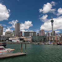 The Viaduct Harbour is set in the heart of Auckland.