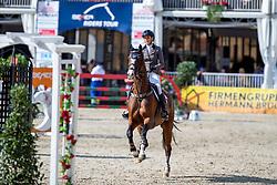 SCHOONBROODT-DE AZEVEDO Celine (BEL), CHEPPETTA<br /> Münster - Turnier der Sieger 2019<br /> MARKTKAUF - CUP<br /> BEMER-Riders Tour - Qualifier for the rating competition (comp no 11) <br /> CSI4* - Int. Jumping competition with jump-off (1.50 m) - Large Tour<br /> 03. August 2019<br /> © www.sportfotos-lafrentz.de/Stefan Lafrentz