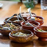 Bhutan food <br /> <br /> Full photoessay at http://xpatmatt.com/photos/bhutan-photos/