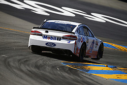 June 23, 2017 - Sonoma, CA, United States of America - June 23, 2017 - Sonoma, CA, USA: Kevin Harvick (4) takes to the track to practice for the Toyota/Save Mart 350 at Sonoma Raceway in Sonoma, CA. (Credit Image: © Justin R. Noe Asp Inc/ASP via ZUMA Wire)