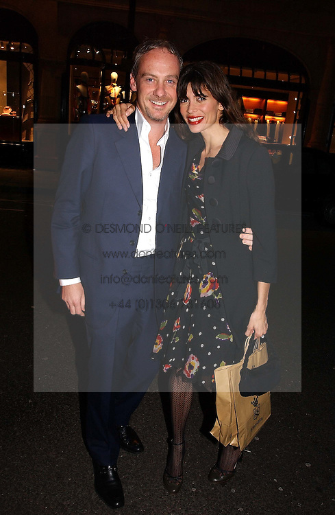 Model LISA B and her husband ANTON BILTON<br />