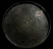 Bronze ritual plate called a Talam. IX century. From Indonesia