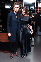 JULIA RESTOIN-ROITFELD at a party hosted by InStyle to celebrate the iconic glamour of Dolce & Gabbana held at D&G, 6 Old Bond Street, London on 3rd November 2010.
