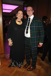 FERGUS HENDERSON and LYN ROTHMAN at an auction in aid of The Parkinson's Appeal for Deep Brain Stimulation 'Meeting of Minds' held at Christie's, King Street, London SW1 followed by a dinner at St.John, 26 St.John Street, London on 16th October 2007.<br /><br />NON EXCLUSIVE - WORLD RIGHTS