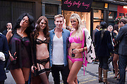 RACHEL HOWARD; ; STACEY FENTON; MURRAY ASH; SAMANTHA SCARBOROUGH;; , Dirty Pretty Things - summer party. Lingerie line hosts  party celebrating its new online shop and showcasing the latest collection. The Lingerie Collective, 8 Ganton Street, Soho. London, 15 June 2011<br /> <br />  , -DO NOT ARCHIVE-© Copyright Photograph by Dafydd Jones. 248 Clapham Rd. London SW9 0PZ. Tel 0207 820 0771. www.dafjones.com.