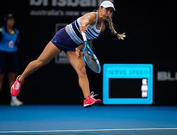 December 31, 2018 - Brisbane, Australia - Yulia Putintseva of Kazakhstan in action during her first-round match at the 2019 Brisbane International WTA Premier tennis tournament (Credit Image: © AFP7 via ZUMA Wire)
