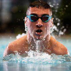 20210125: SLO, Swimming - Paralympic swimmer Tim Znidarsic Svensek during training in a pool