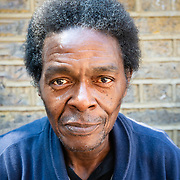Portrait of Caribbean man in Brick Lane, London