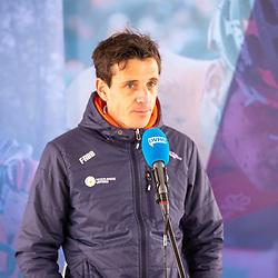10-05-2021: Wielrennen: persmoment EK veldrijden: Wijster<br />Thorwald Veneberg